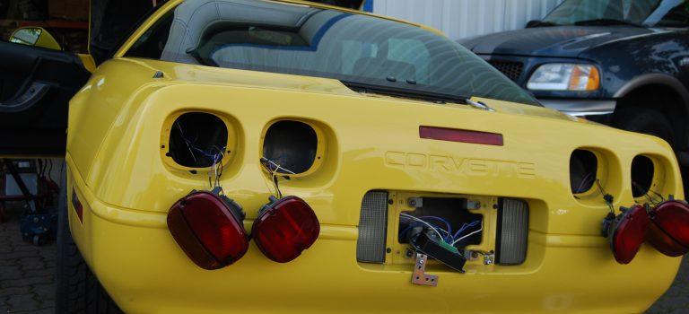 Corvette vor Umbau